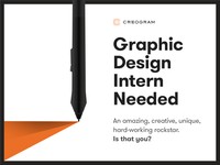Graphic Design Intern Needed!
