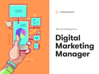 Looking for a Digital Marketing Manager