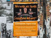 Cottingham Tigers Rugby League Poster