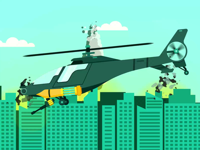 Helicopter Animation motion designer motion design school flatdesign war helicopter war helicopter army helicopter animation animated animator loop animation character animation animation after effects animation 2d animated gif motiongraphics motion design animation