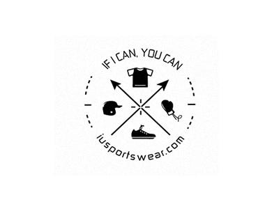 Iusportswear sport sportswear apparel fashion logo sports