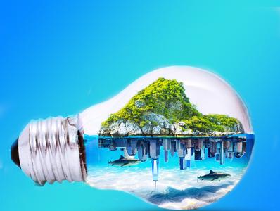 bulb world manipulations illustration