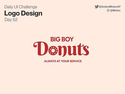 Daily UI #52 Logo Design donuts designs logo design logo dailyuichallenge mobile ui design app dailyui figma uxui ux design ui
