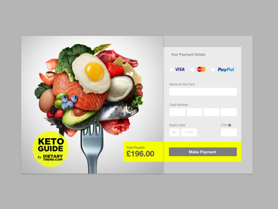 Credit Card Checkout Form - Fast Checkout UI sketch ui user interface credit card payment credit card form daily 100 challenge daily ui challenge daily ui 002 daily ui