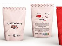 Chcislaninu branding, packaging