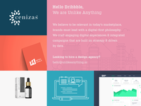 Hello Dribbble! We Are Unlike Anything