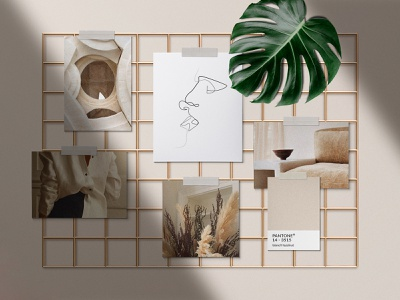 Realistic Mood Board Mockups blog collage social media instagram fashion pinterest style tile brand digital board mood board mood moodboard download psd