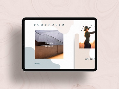 Solveig Social Media Templates templates style social pinterest pack media kit media instagram facebook clean download