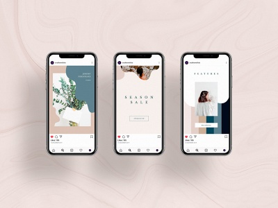 Solveig Social Media Templates template psd templates style social pinterest pack media kit media instagram facebook clean download