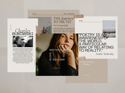 Writers Instagram Templates download text design writer storytelling blog quotes photoshop canva psd template stories post instagram