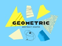 Geometric Abstract Shapes download vibrant composition suprematism memphis elements vector shapes abstraction abstract art geometic geometry