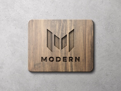 Wooden Sign Mockup Scenes outdoor signboard 3d download psd texture concrete wall presentation showcase branding brand logotype logo mockup view front wooden wood sign