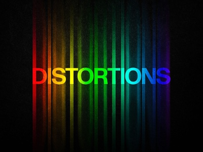 Freebie: Color Distortion Text Effect freebie download free 90s 80s 70s neon trippy psd styles layer effect text glowing glow distortion gradient rainbow