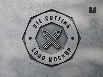 Freebie: Manufacture Logo Mockup brand presentation branding logo template psd mockup free freebie download pixelbuddha