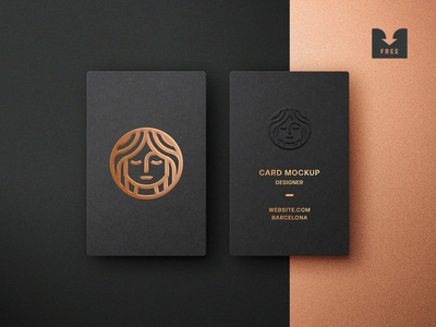 Freebie: Foil Embossing Business Card Mockup embossed hot foil stationery card business template psd mockup free freebie download pixelbuddha
