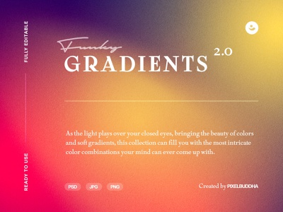 Funky Gradient Textures Vol.2 vivid