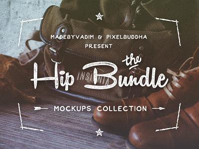 Hip Bundle: mockups collection pixelbuddha freebie free mock-up mockup mock-ups notebook template hero hipster photo wood