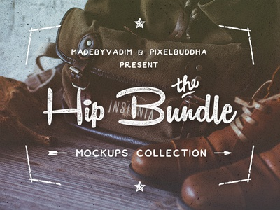 Hip Bundle: mockups collection