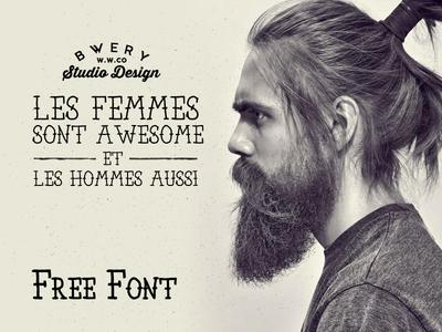 Freebie: Bear & Loupe Font Family