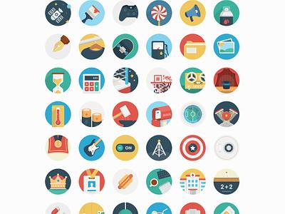 Ballicons 2 Vol.2 ballicons pixelbuddha icons flat icon free set freebie