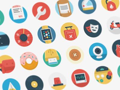 Ballicons 2 Vol.2 freebie set free icon flat icons pixelbuddha ballicons