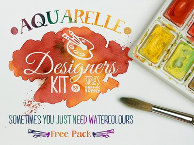 Freebie: Aquarelle Designers Kit Mini