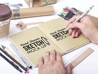 Freebie: Hand Drawn Sketch Mock-Ups