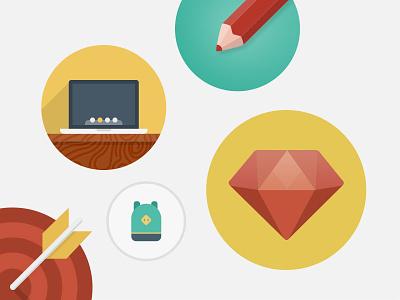 Freebie: PixelBuddha Free Icons Bundle freebie set free icon flat icons pixelbuddha ballicons smallicons