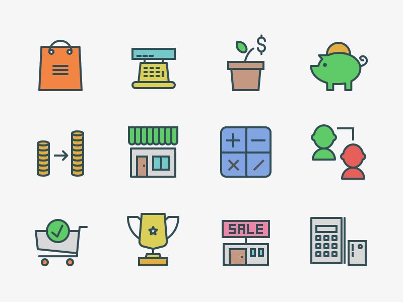 Freebie: 104x3 Marketing Swifticons icon icons freebie free set line pixelbuddha vector