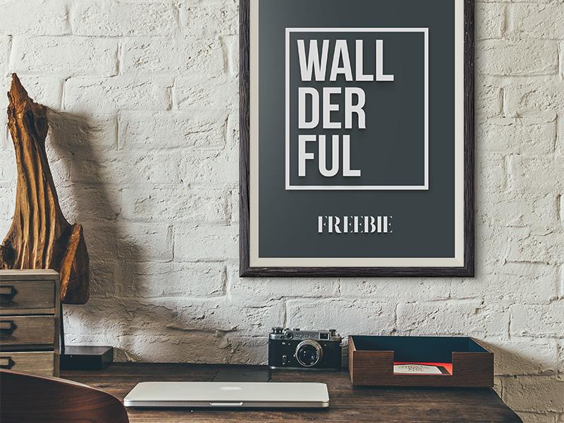 Freebie Free Frame Mockups By Pixelbuddha Dribbble