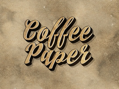 Freebie: 10 Coffee Paper Textures