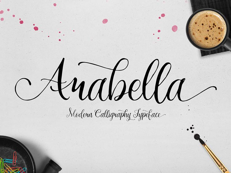 Freebie: Arabella Free Font typeface font free pixelbuddha freebie