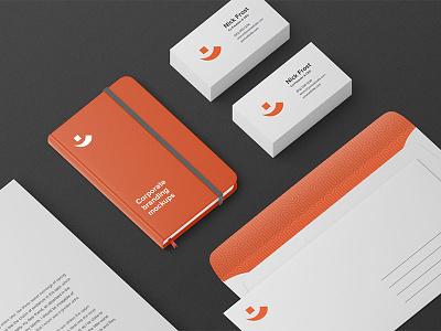 Freebie: Identity Branding Mockup Vol. 2 branding identity mockup free pixelbuddha freebie