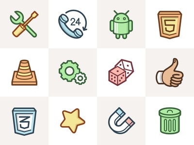 Capitalist Icon Set: Web Essentials