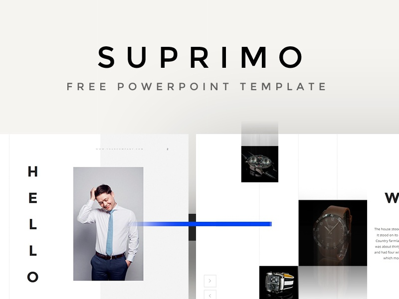Suprimo PowerPoint Template template powerpoint suprimo pixelbuddha