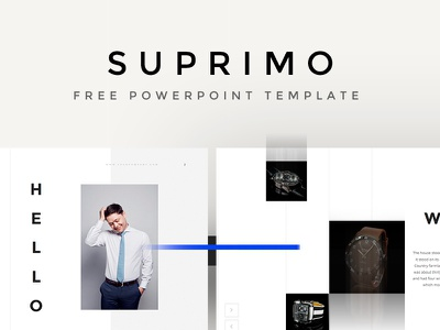 Suprimo PowerPoint Template download template powerpoint suprimo pixelbuddha