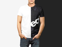 Men T-shirt Mockup Set