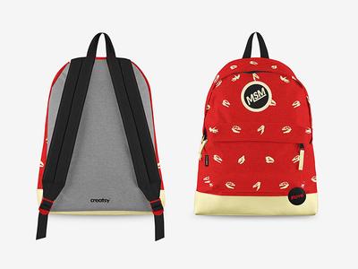 Backpack Mockup Set download psd psd download mockups bag backpack pixelbuddha mock-up mockup