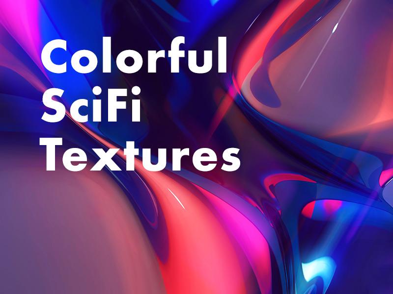 Freebie: 5 Colorful Sci-Fi Textures