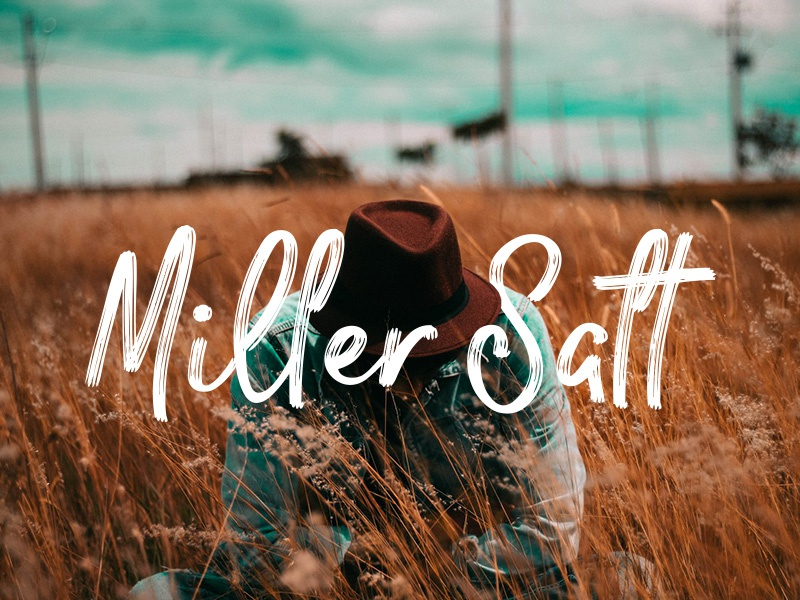 Download Freebie: Miller Salt Font DUO