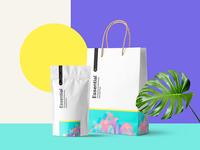 Freebie: Essential Branding Mockup Scene
