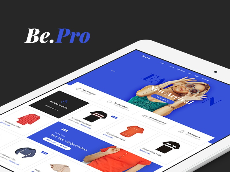 Freebie: Fashion eCommerce Templates interface e-commerce ecommerce web fashion template kit ui freebie free