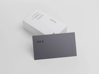 Freebie: HEX Business Card Template
