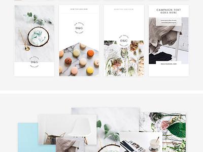 Freebie: White Instagram Stories Pack pack social stories instagram templates template pixelbuddha freebie free