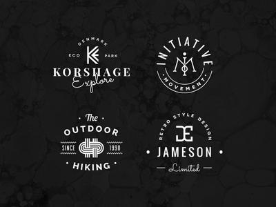 Freebie: Monogram Logo Kit