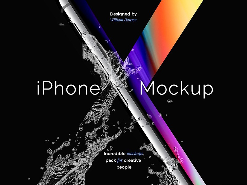 Download Freebie: iPhone X Mockup Set