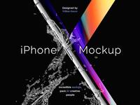 Freebie: iPhone X Mockup Set
