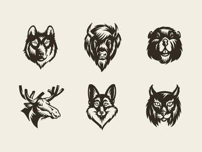 Freebie: Savage Animals Vector Bundle