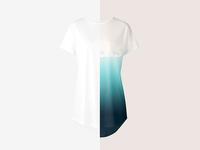 Longline T-shirt Mockup Set