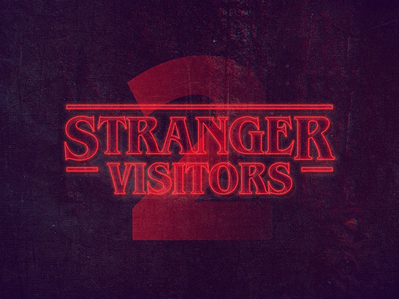 Download Freebie: Stranger Things PS Text Style